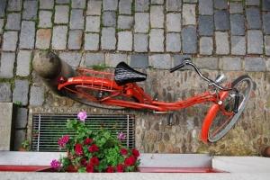 Fahrrad vor Eser 17