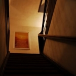 Weg ins Obergeschoss